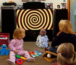 Effects on children watching tv and behavior